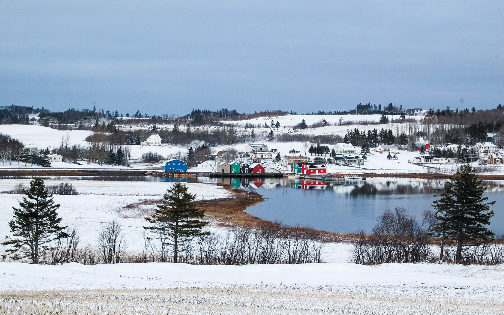 French River, PEI - Maureen Blake - PEI Mutual Calendar